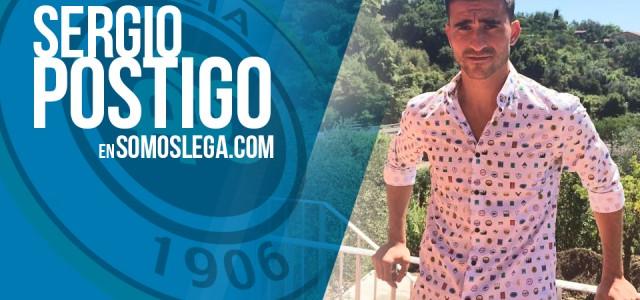 """ENTREVISTA. Sergio Postigo: """"El Leganés hizo un gran esfuerzo para que me quedase"""""""