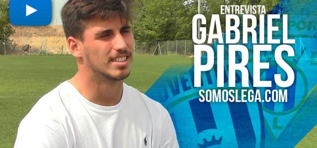 """Entrevista. Gabriel Pires: """"En Italia querían lucha y el fútbol es diversión"""""""