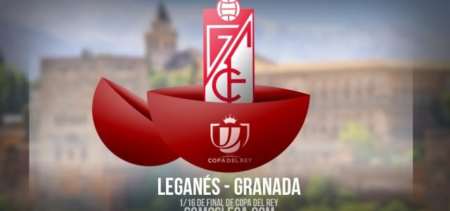 El Leganés visitará al Granada en Copa