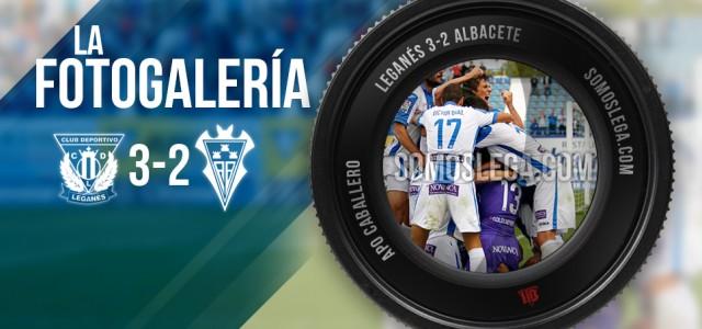 FOTOGALERÍA. C.D. Leganés – Albacete Balompié