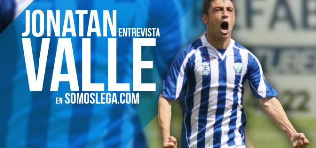 """ENTREVISTA. Jonatan Valle: """"Asier Garitano me parece un pedazo de entrenador"""""""