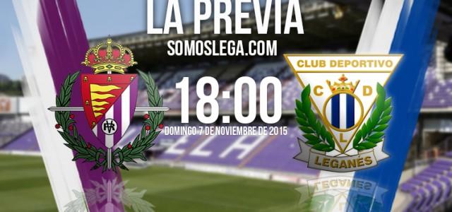 Real Valladolid – CD Leganés: Lucha para mirar hacia arriba