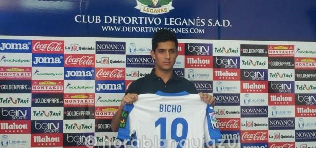 El inédito Bicho se despide de Leganés