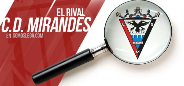 El Rival: C.D. Mirandés