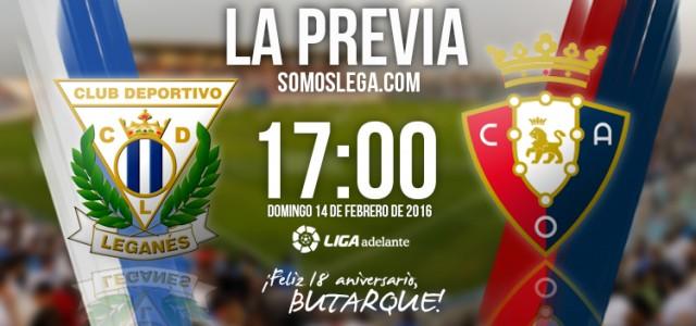 CD Leganés – CA Osasuna: Con el corazón en un punto