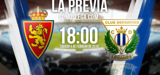 Real Zaragoza – CD Leganés: La Romareda mide al aspirante