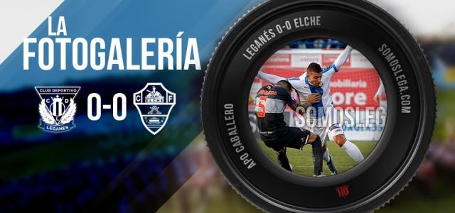 FOTOGALERÍA. CD Leganés – Elche CF