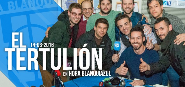 """El """"Tertulión"""" de Hora Blanquiazul"""