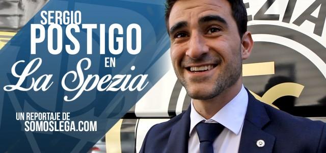 Reportaje. Sergio Postigo en La Spezia