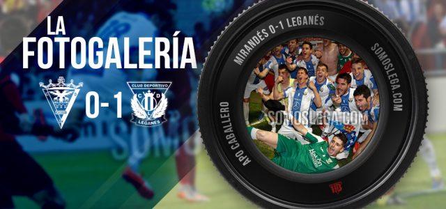 FOTOGALERÍA. C.D. Mirandés – C.D. Leganés