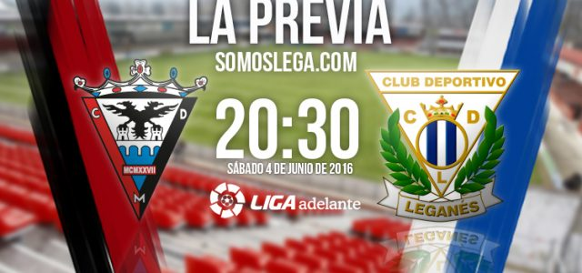 CD Mirandés – CD Leganés: Vencer para ascender