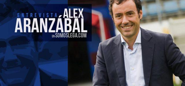 "Alex Aranzábal: ""Eibar y Leganés tienen muchísimas similitudes"""