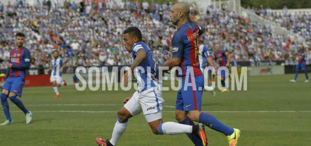 El Barcelona despierta al Leganés de su sueño