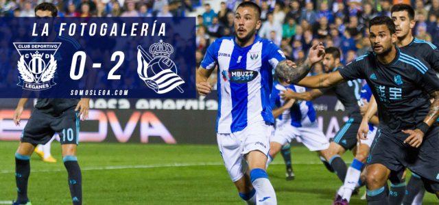 Fotogalería. CD Leganés 0-2 Real Sociedad