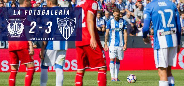 Fotogalería. CD Leganés 2-3 Sevilla FC