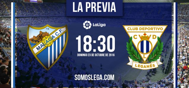 Málaga CF – CD Leganés: Al sur a por otra victoria