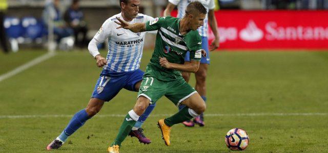 El Málaga despacha al Leganés