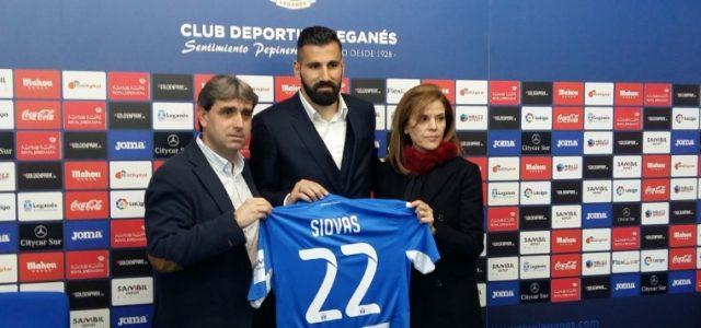 """Siovas: """"Vengo a ayudar al Leganés"""""""