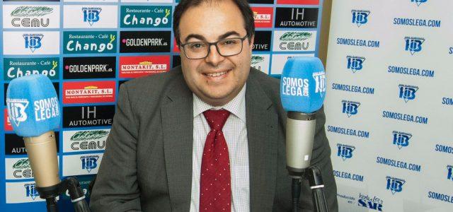 """Santiago Llorente: """"Trabajaremos para que el sueño dure mucho más"""""""