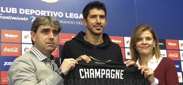"Champagne: ""Lo principal es que el Leganés se mantenga en Primera"""