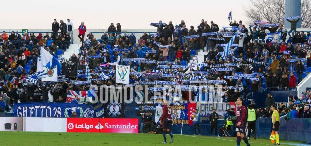 """La afición pide """"estar a la altura"""" frente al Sporting"""