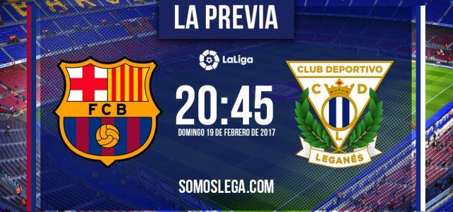 FC Barcelona – CD Leganés: platos rotos o campanada