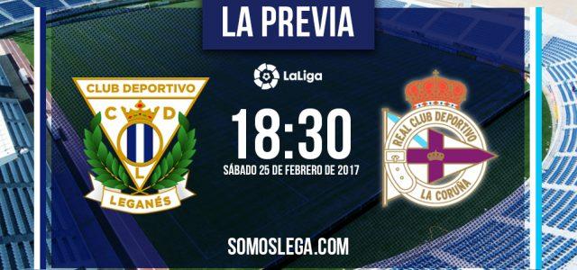 C.D. Leganés – R.C. Deportivo: Pulso de Garitanos