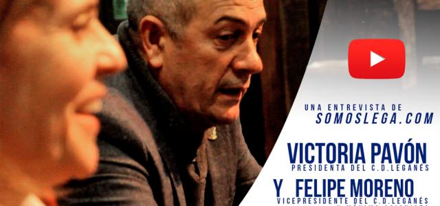 """Victoria y Felipe: """"No queríamos problemas políticos por el Leganés"""""""