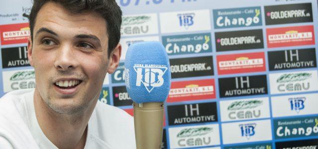 "Erik Morán: ""He vuelto porque el Leganés me ha querido"""