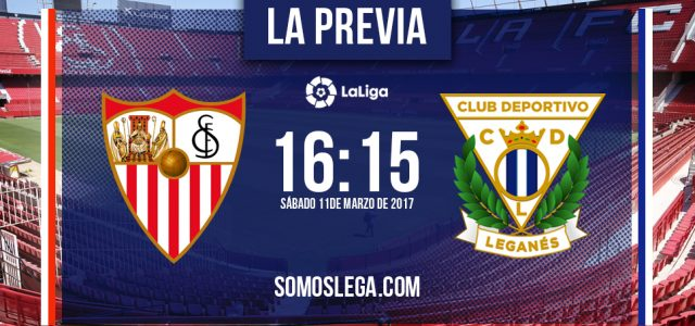 Sevilla F.C. – C.D. Leganés: A mayor reto, mayor ilusión
