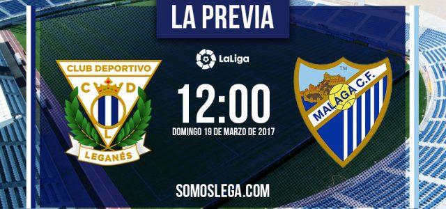 CD Leganés-Málaga CF: A ampliar la racha