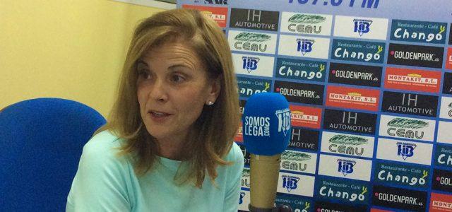 """Victoria Pavón: """"No soy demasiado optimista con la ampliación de Butarque esta temporada"""""""