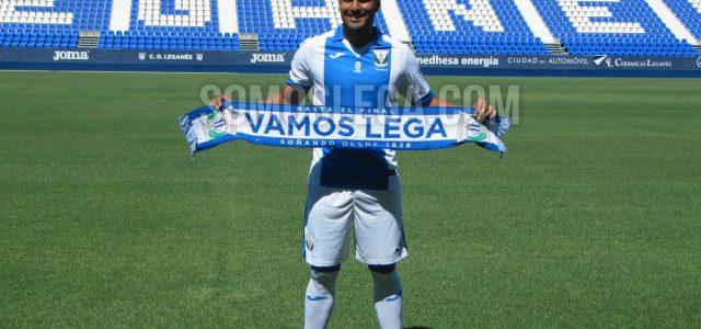 """Mauro Dos Santos: """"Vengo al CD Leganés a ganarme un puesto en el once"""""""