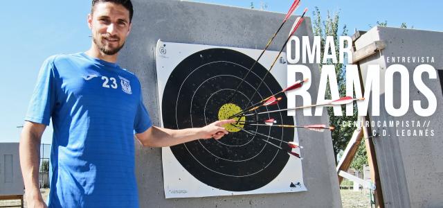 """ENTREVISTA. Omar Ramos: """"Me siento muy querido en Leganés"""""""