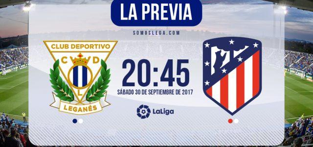 Leganés – Atlético: Derbi ante un rival herido