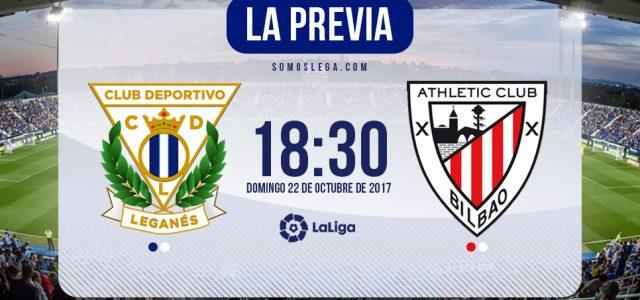Leganés-Athletic: Termómetro a la buena racha del 'Lega'