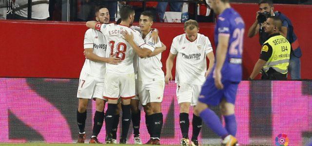 El Sevilla 'despierta' al Lega