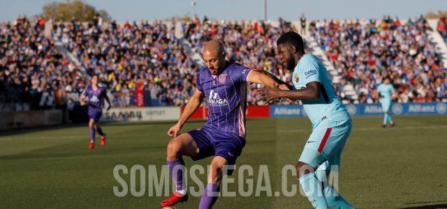Dos zarpazos de Luis Suárez acaban con las esperanzas de un combativo Leganés