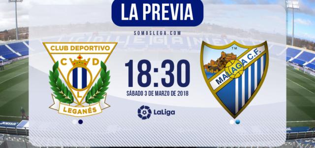 Leganés – Málaga: Mucho que ganar y mucho que perder