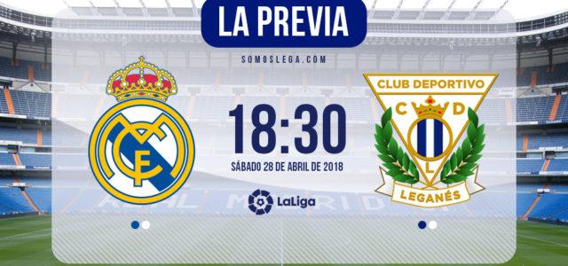 Real Madrid – Leganés: a por un 'pepinazo' de permanencia