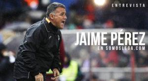 "ENTREVISTA | Jaime Pérez: ""Se cierra una etapa bonita e importante en Leganés"""