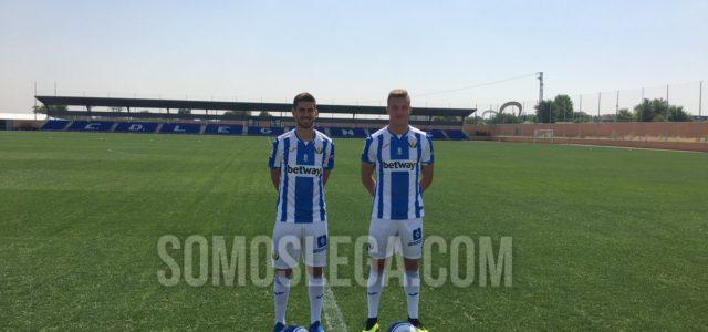 """Rodrigo Tarín: """"Es un orgullo representar al Leganés en Primera"""""""