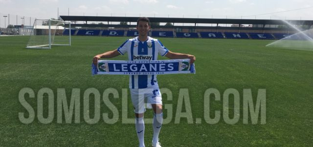 """Mikel Vesga: """"Qué mejor sitio como Leganés para seguir creciendo"""""""
