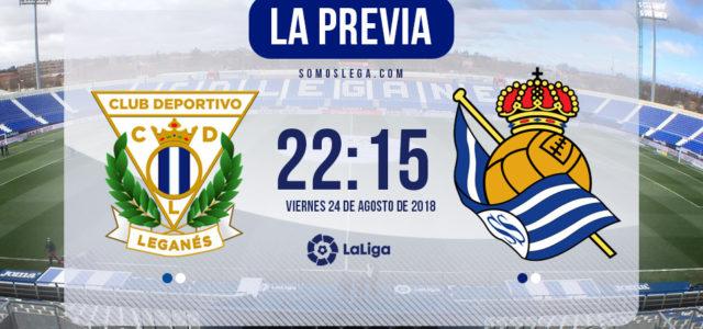 """Leganés – Real Sociedad: """"No jugamos contra las personas"""""""
