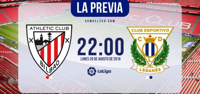 Athletic – Leganés: Pellegrino se estrena en San Mamés