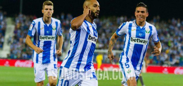 'SúperElZhar' rescata al Leganés (2-2) tras una segunda parte de escándalo
