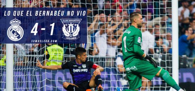 Lo que el Bernabéu no vio del Real Madrid – Leganés