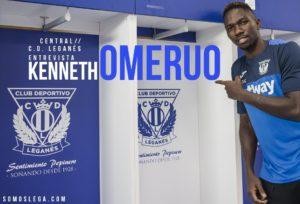 """Kenneth Omeruo: """"El Leganés me dio la oportunidad de cumplir mi sueño"""""""