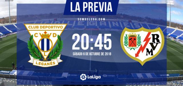 Leganés – Rayo: a sudar por tres puntos