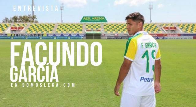 """Facundo García: """"Tengo muchas ganas de volver y triunfar allí"""""""